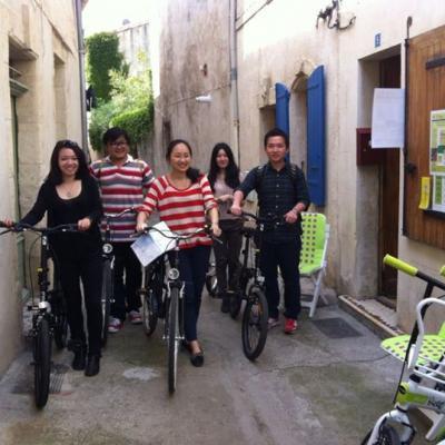 Etudiants chinois sur les traces des Tournesols de Van Gogh