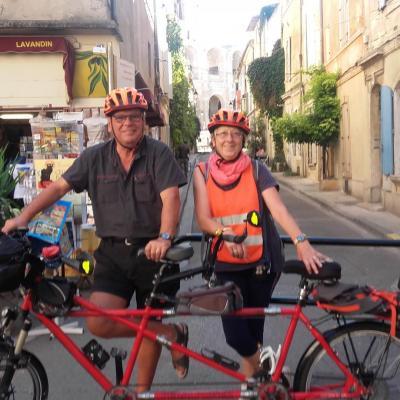 reparation de tandem par 1 Véloc Arles
