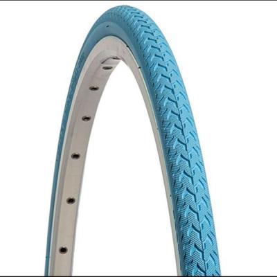 pneu velo 700x24 bleu clair