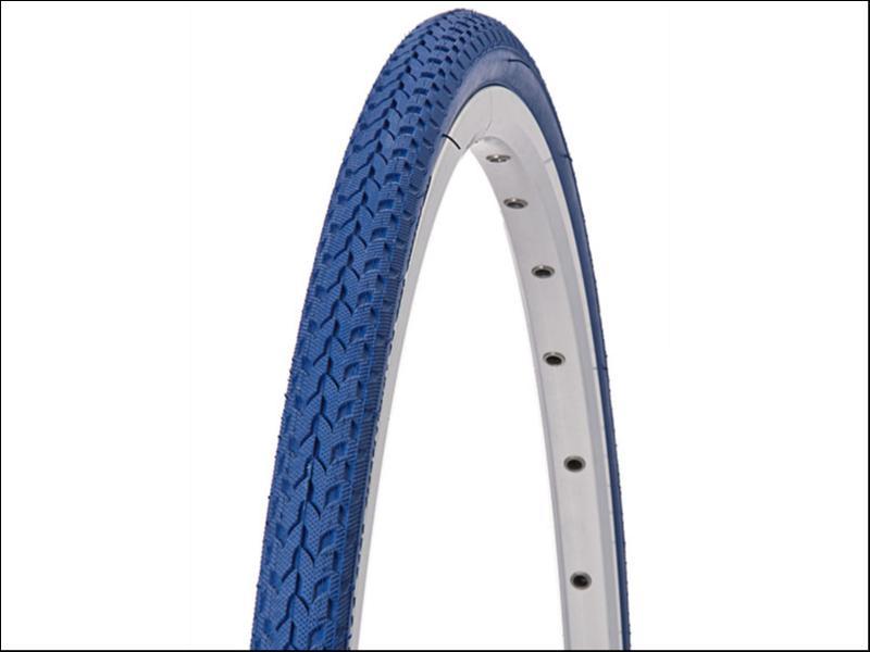 pneu velo 700x24 bleu