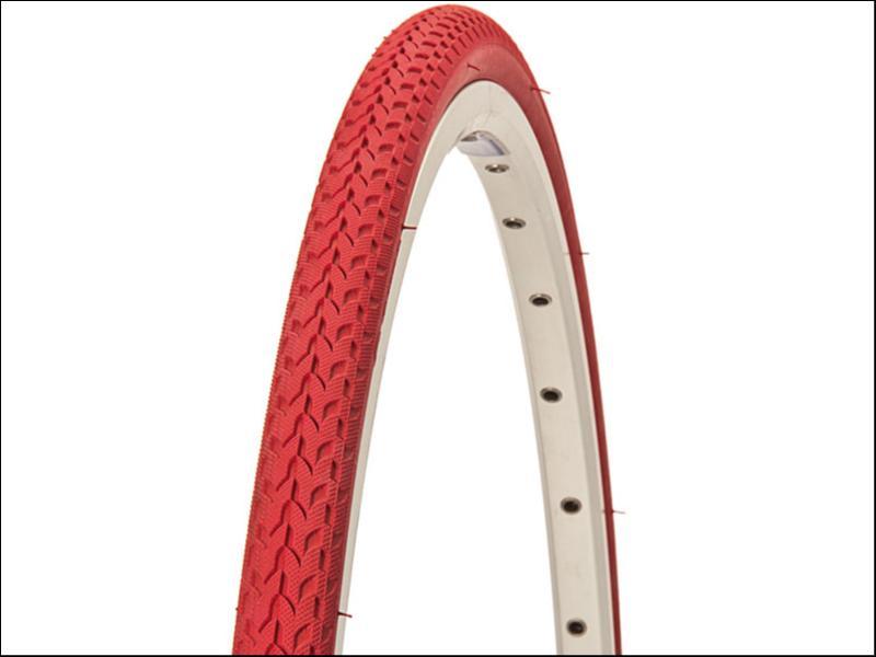 pneu velo 700x24 rouge