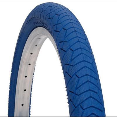 pneu velo bleu foncé  20x1 95 bleu