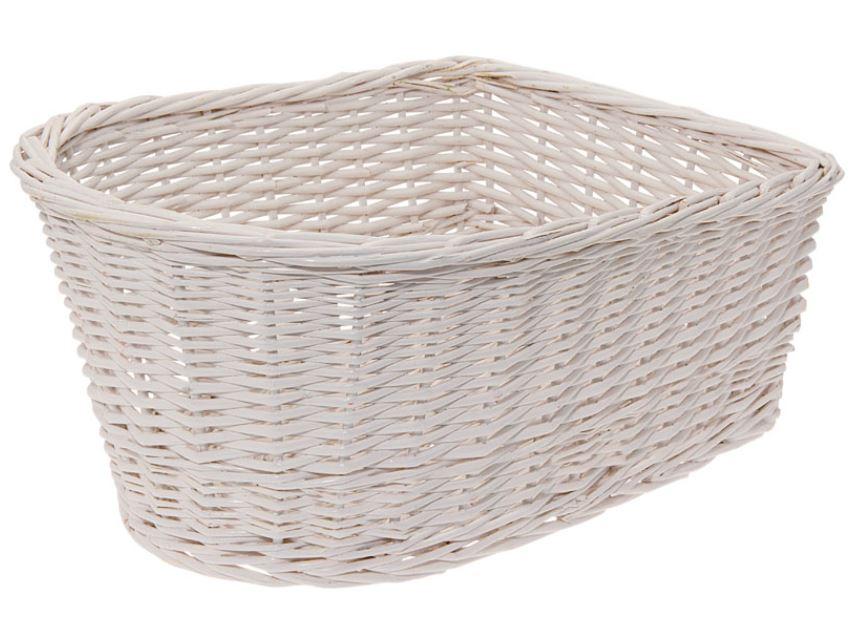 Panier arriere osier naturel blanc white basket velo vintage www 1veloc fr