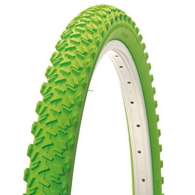 pneu vtt vert clair cross 26x1 95 vert