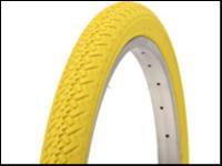 pneu jaune 20x1 75 jaune