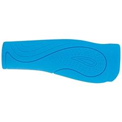 Poignee velo bleu clair confort gel waterproof