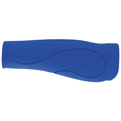 Poignee velo bleu fonce confort gel waterproof