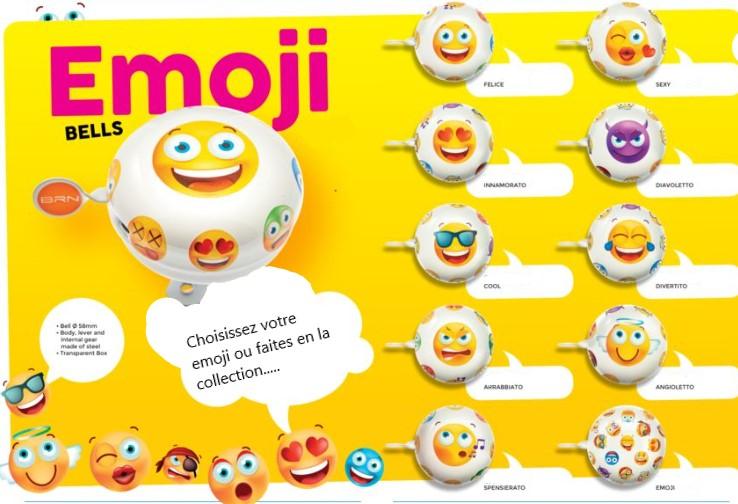 Sonnette emoji 1veloc fr