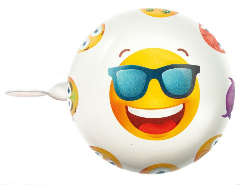 Sonnette emoji cool 1veloc fr