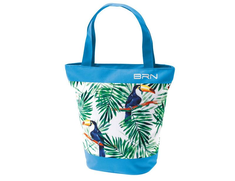 Sunbag toucan bleu pour velo sac a main et velo 1veloc fr