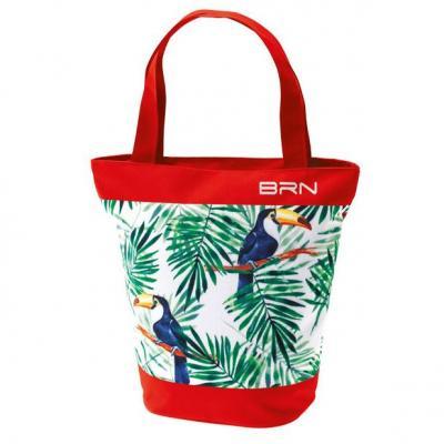 Sunbag toucan rouge pour velo sac a main et velo 1veloc fr