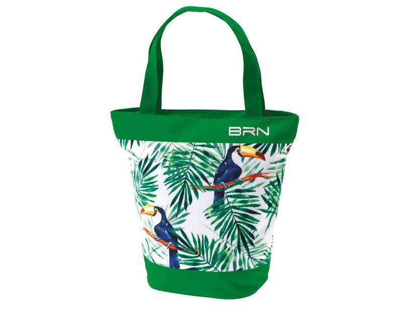 Sunbag toucan vert pour velo sac a main et velo 1veloc fr