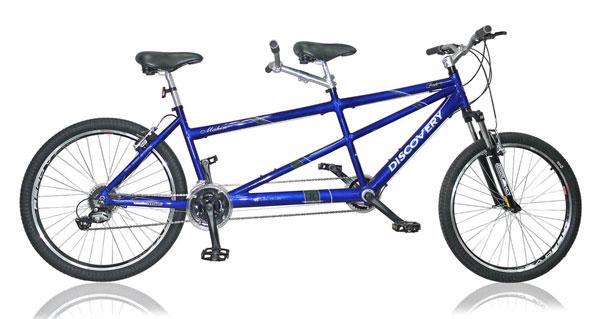 Vélo Tandem discovery 26,1 véloc arles vente de tandem
